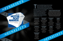 760HTs - finalist for MOTOR BOAT AWARDS 2014