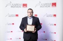 Firma ADMIRAL  BOATS SA została wyróżniona tytułem Gazele Biznesu 2014